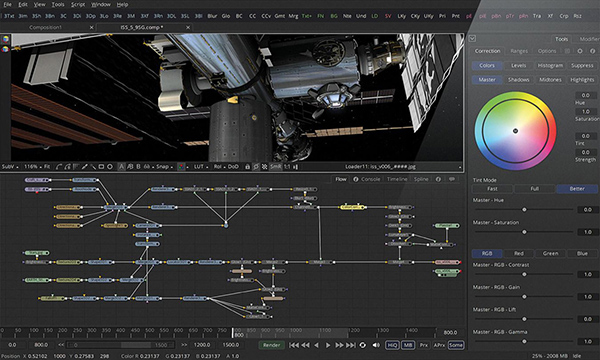 DaVinci Resolve 15 Packs Fusion with Editorial, Colour and Sound