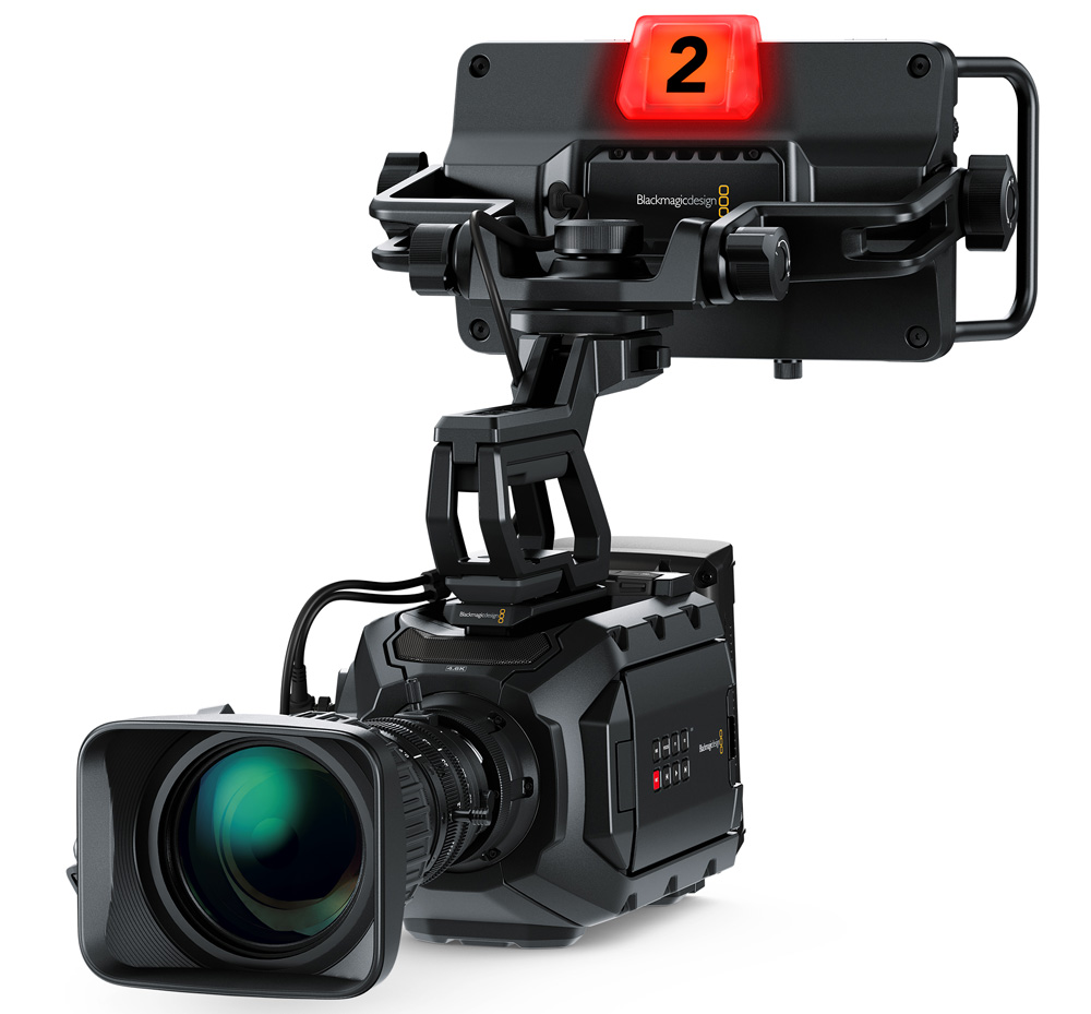 Blackmagic URSA SViewfinder left