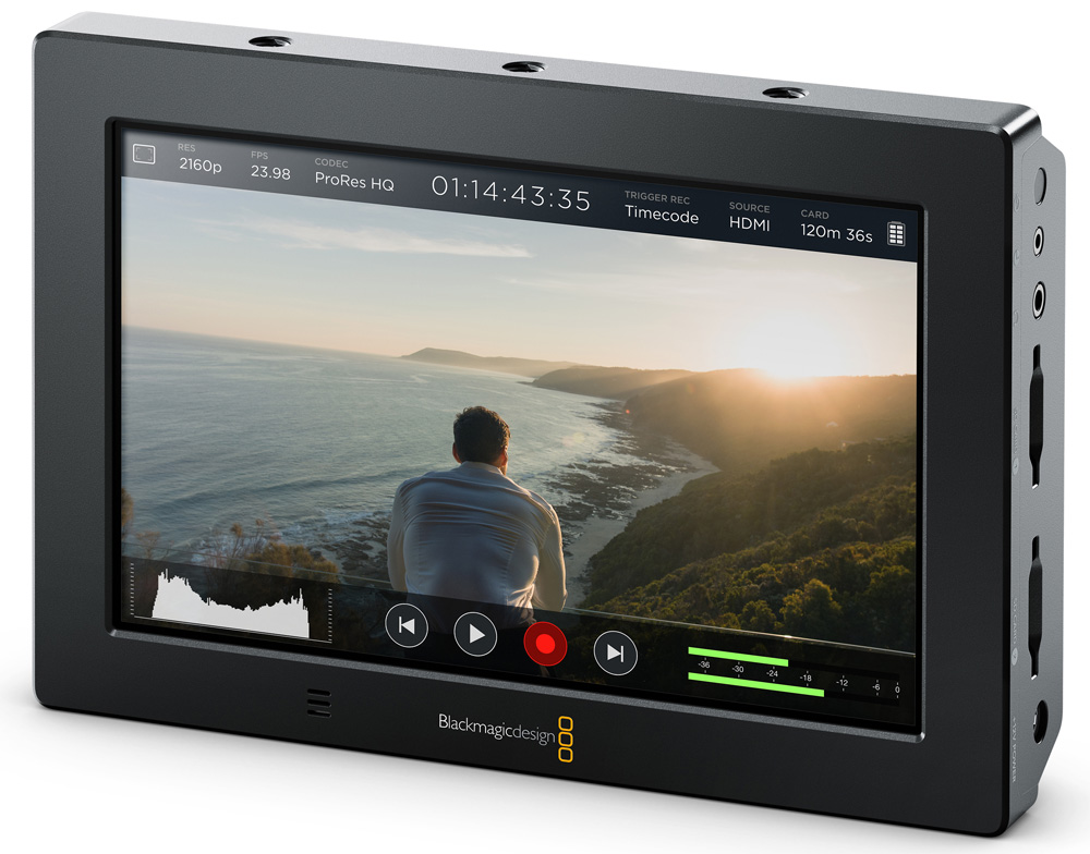 Blackmagic VideoAssist4K 3QtrRight