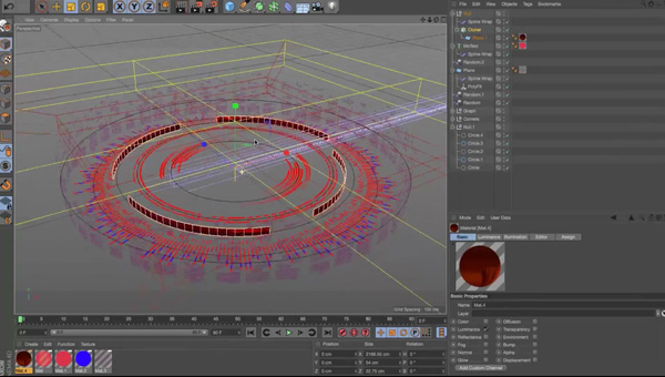 Cinema 4D Tutorials Help Artists Create UIs of the Future
