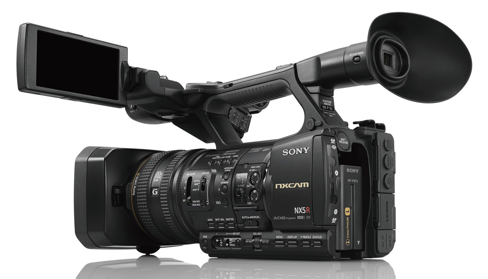 Sony supports multi cam live streaming with new nxcam for Camera it web tv