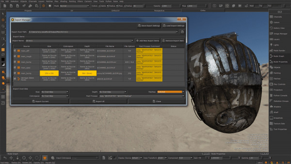 Foundry Mari4.0 Export