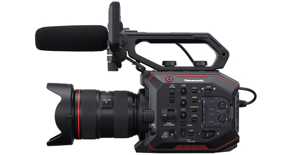 Panasonic EVA1 02 SIDE
