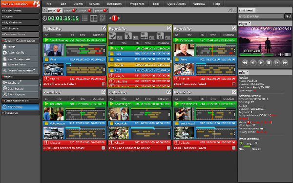 RS PCL Automates MCR and News Playout with Imagine Communications