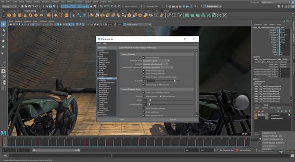 Maya 2019 Speeds Playback and Look Development for Animators