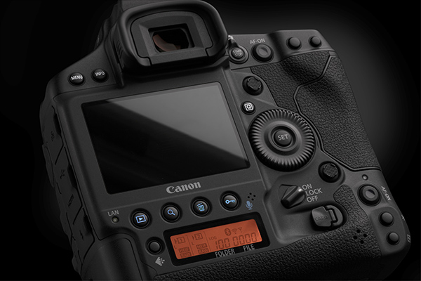 Canon EOS 1DX Mark III Back