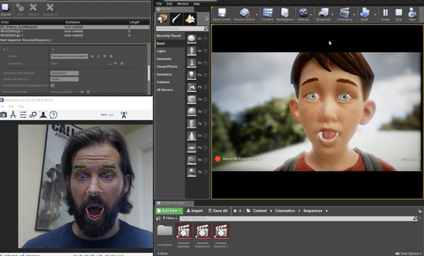 Faceware Live2 5 Unreal