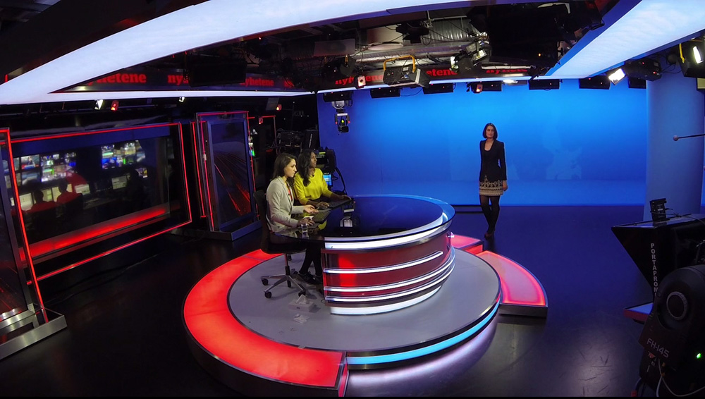 Vizrt And Vicon Track Together On Virtual Sets
