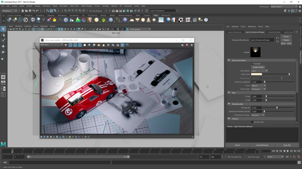 V-Ray 3 5 for Maya Steps Up Realism & Look Development Tools