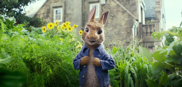 Animal logic peter rabbit
