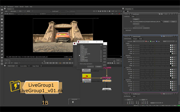 Foundry nuke Live Groups 04