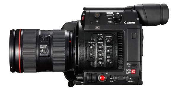 Canon EOS C200 Records Cinema RAW Light and Internal 4K/UHD