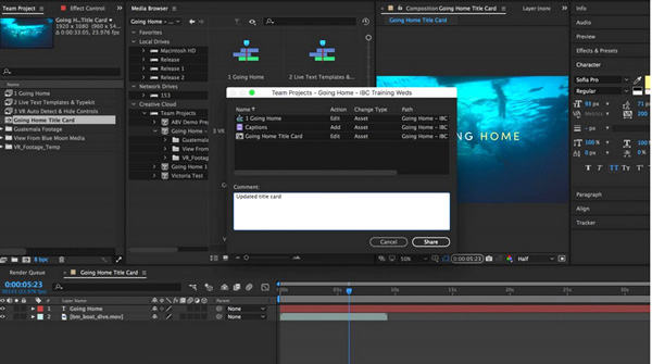 adobe motion graphics software