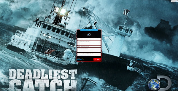 Signiant Deadliest Catch portal