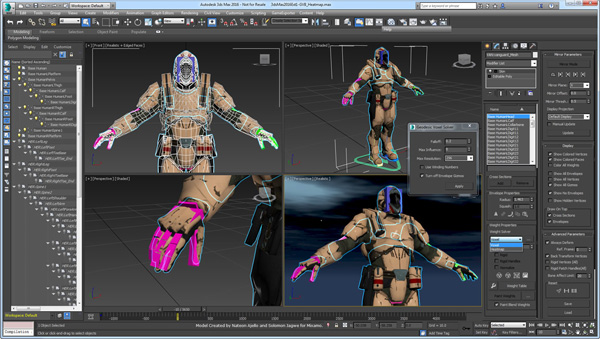 Autodesk Maya and 3ds Max Push Ahead to 2017 for 3D Artists
