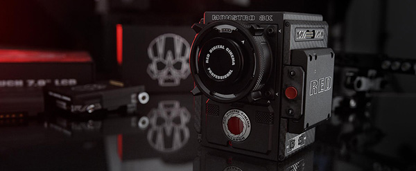 RED monstro 8k vv sensor weapon