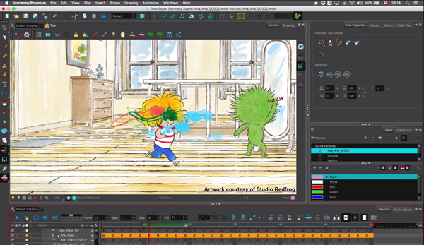 Toon Boom Harmony 16 Tunes Up Pipeline Integration and