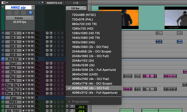 Avid Edit sound to picture