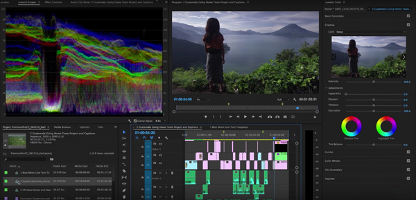 Adobe CC Updates VR & HDR Editing and Controls Team Projects