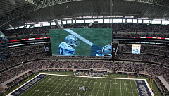 EVS cowboys stadium display