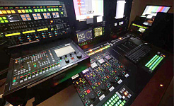 Sony SKY Perfect JSAT control roomk