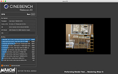 Maxon cinebench20